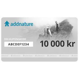 Addnature Gavekort 10000 kr